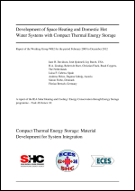 Development of Space Heating and Domestic Hot Water Systems with Compact Thermal Energy Storage